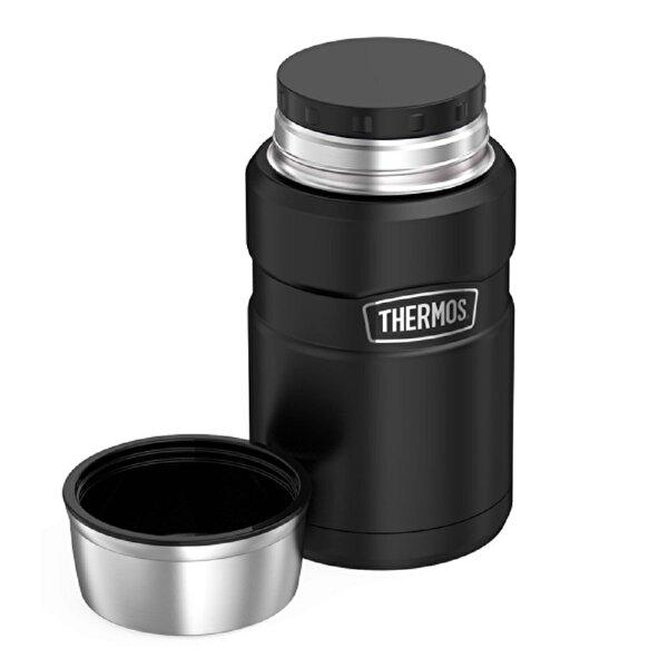 Thermos SK 3020 Çelik Yemek Termosu 710ml. Siyah 173053. ürün görseli