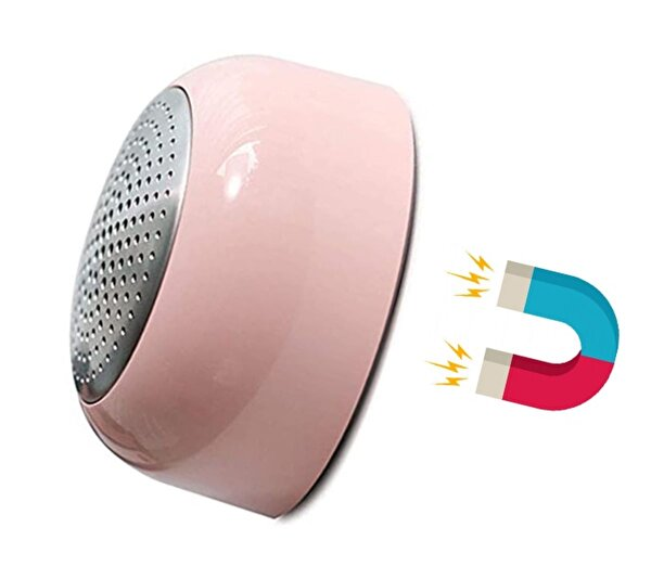 iXtech IX-B10 Manyetik Pembe Bluetooth Hoparlör. ürün görseli