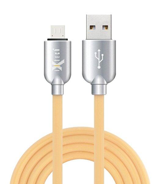 iXtech IX-08 Micro USB Sarı Hızlı Şarj ve Data Kablosu 1m. ürün görseli